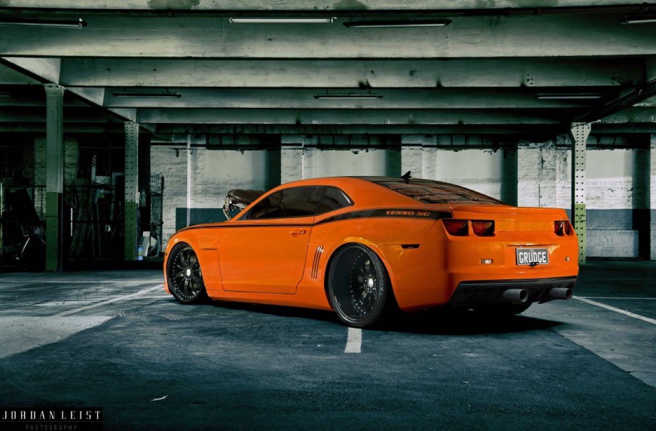 """Chevrolet Camaro 1000+ """"The Grudge""""... Priez pour les pneus ! 11"""