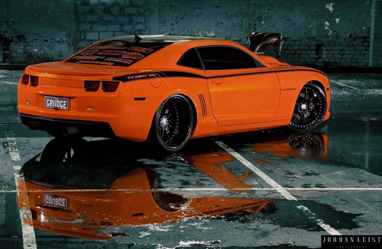 """Chevrolet Camaro 1000+ """"The Grudge""""... Priez pour les pneus ! 6"""