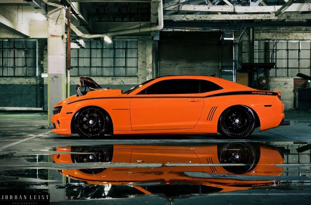 """Chevrolet Camaro 1000+ """"The Grudge""""... Priez pour les pneus ! 4"""