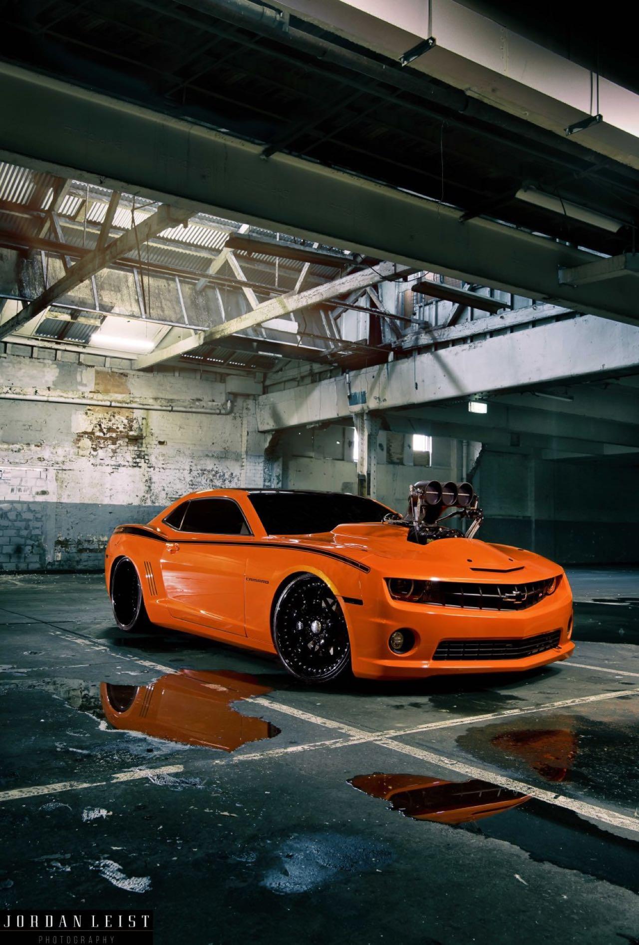 """Chevrolet Camaro 1000+ """"The Grudge""""... Priez pour les pneus ! 3"""