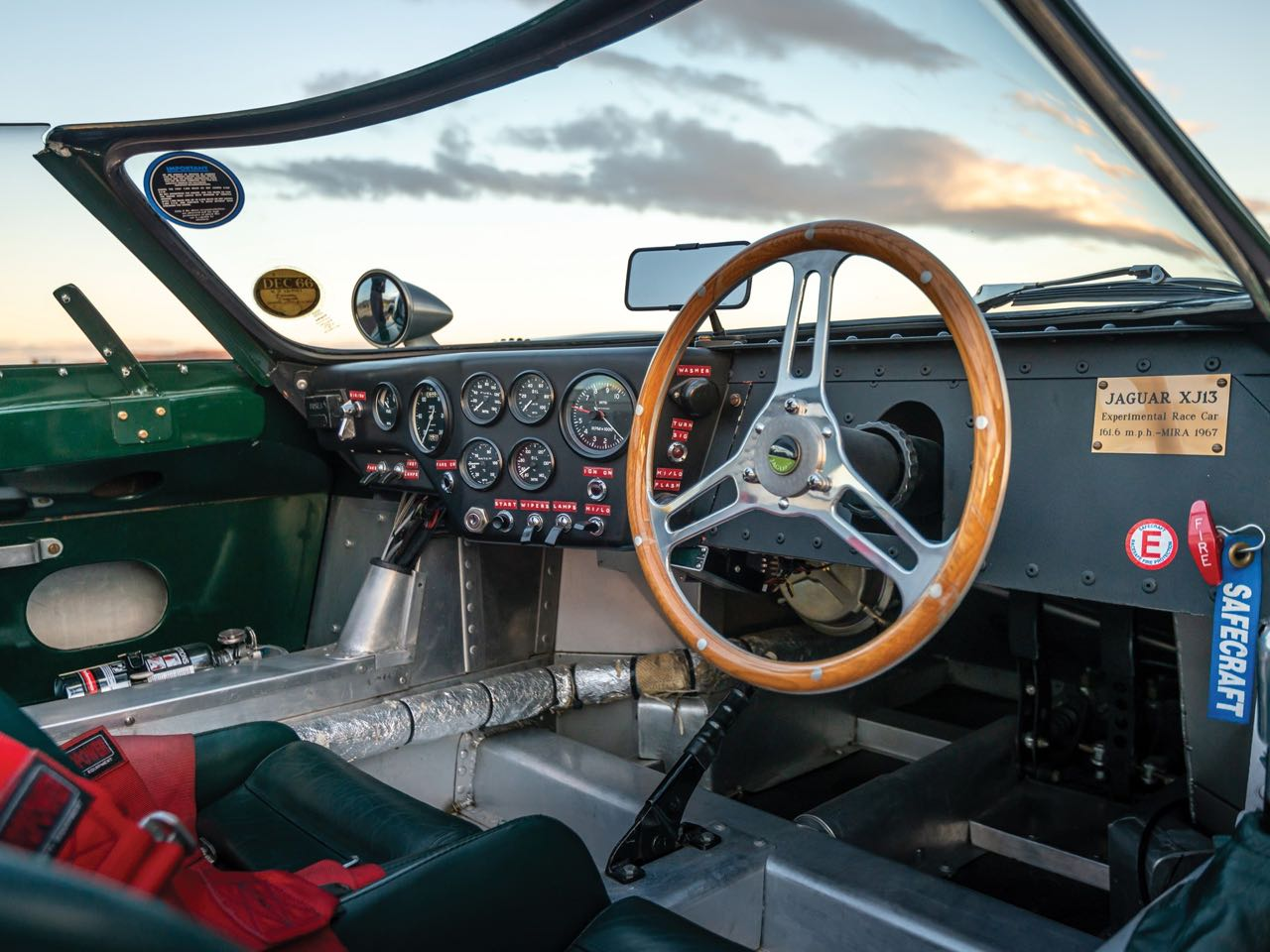 Jaguar XJ13... Unlucky Number ! 16