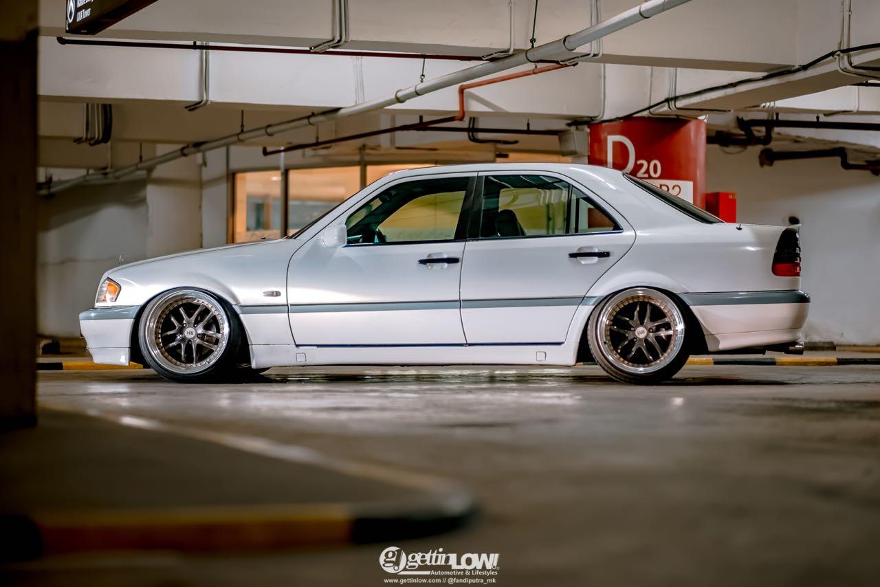 '97 Mercedes Classe C W202... Le static, c'est chic ! 4