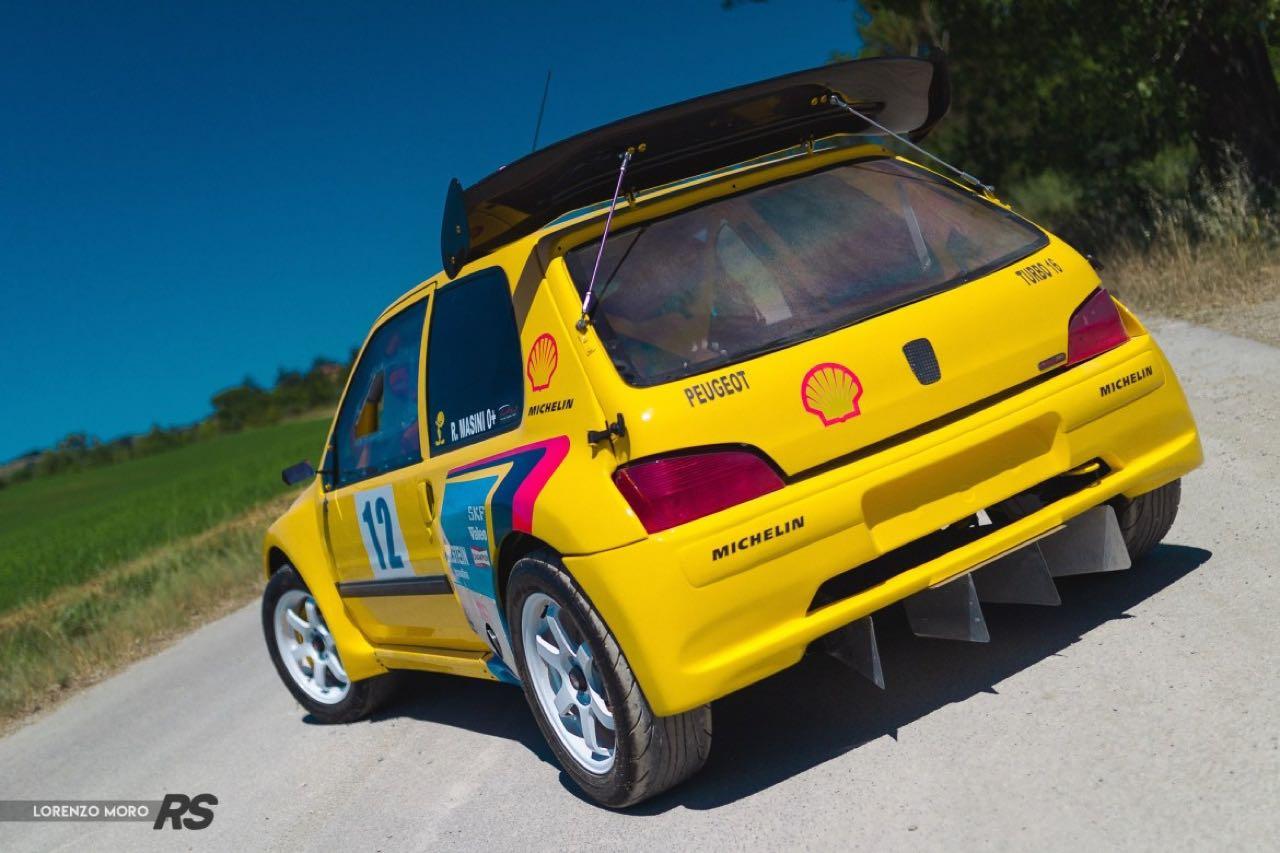 Peugeot 106 Rallye... presque T16 ! 9