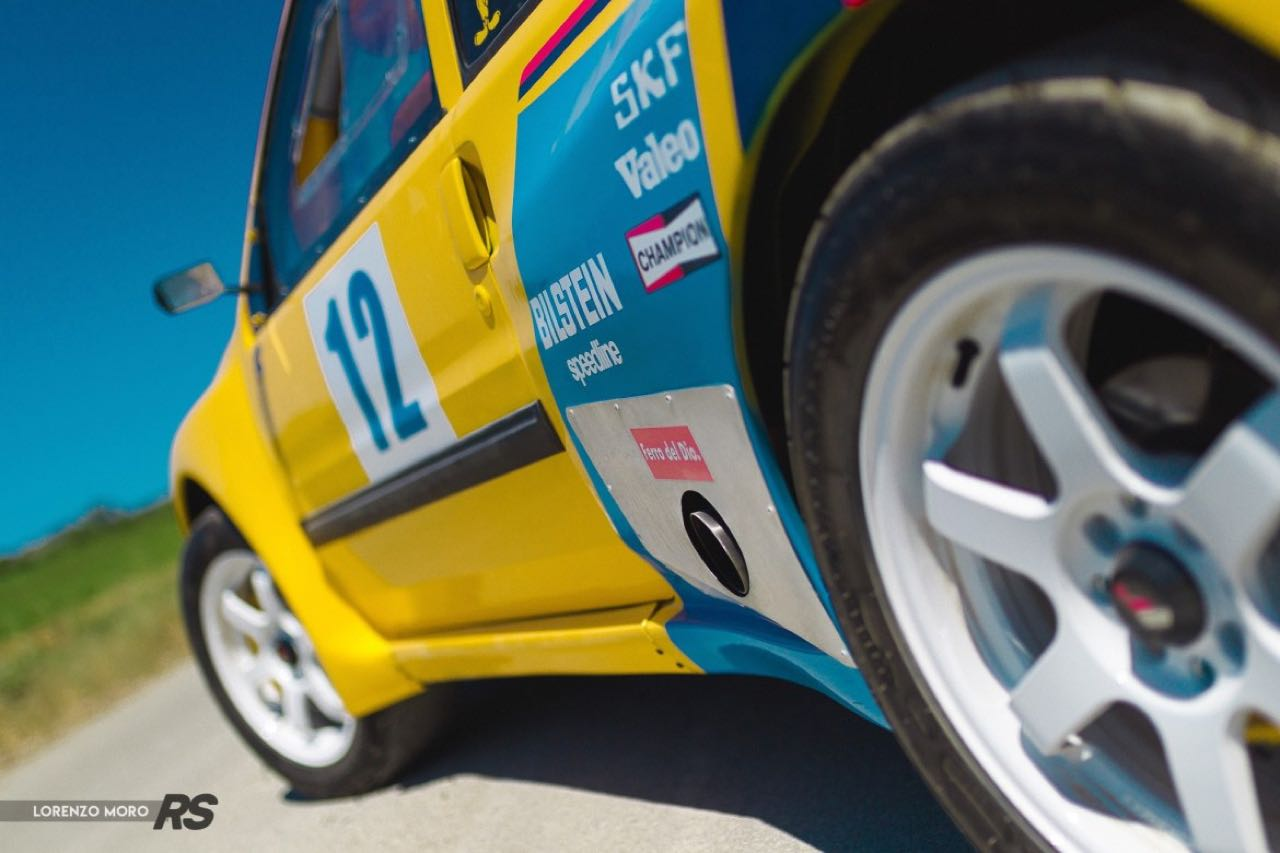 Peugeot 106 Rallye... presque T16 ! 16