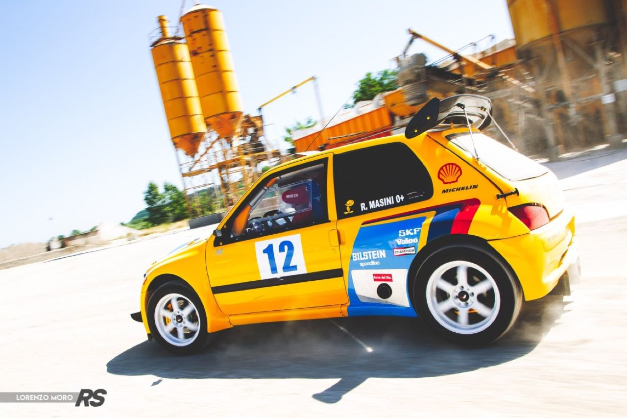 Peugeot 106 Rallye... presque T16 ! 3