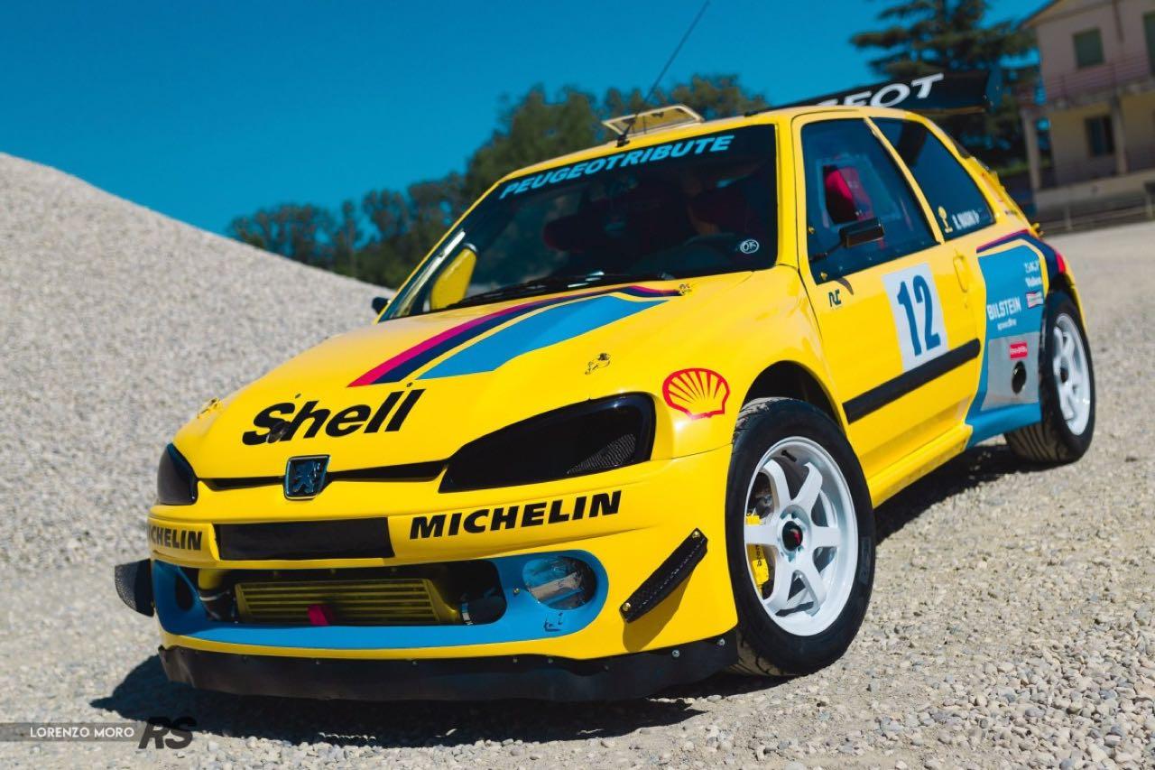 Peugeot 106 Rallye... presque T16 ! 2
