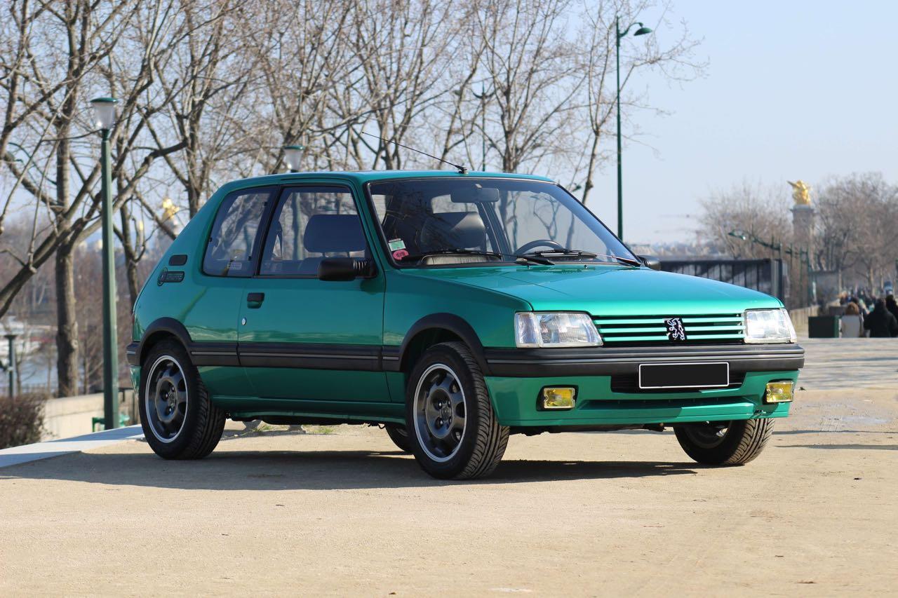 Peugeot 205 Griffe... Quand Todt voit vert ! 1