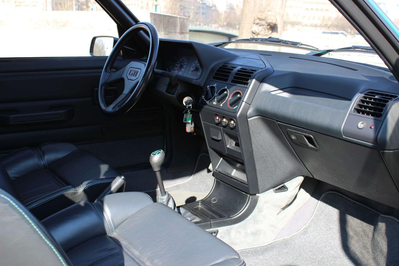 Peugeot 205 Griffe... Quand Todt voit vert ! 5