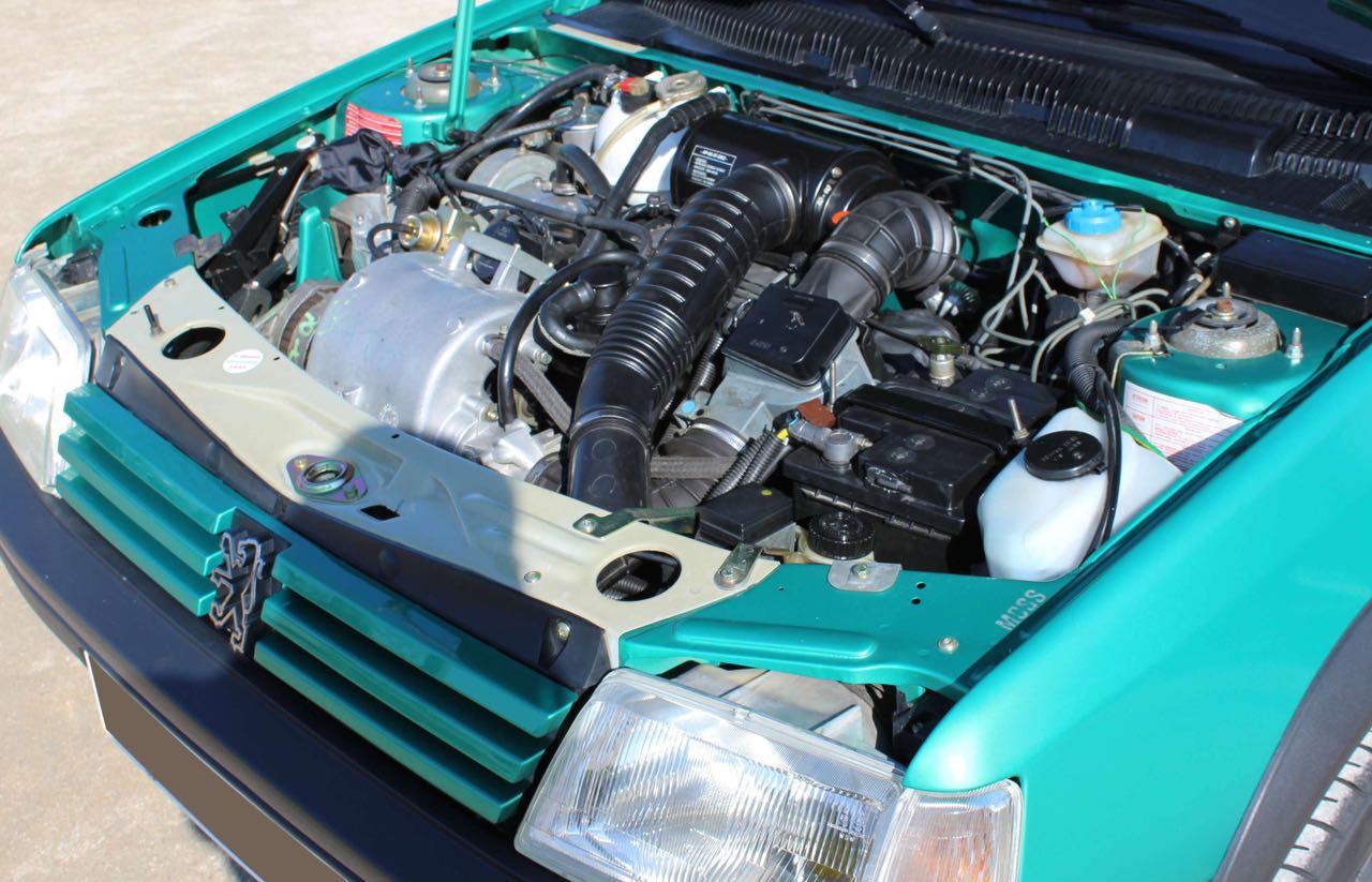 Peugeot 205 Griffe... Quand Todt voit vert ! 10