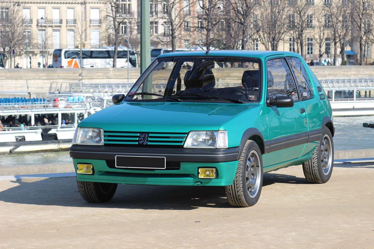 Peugeot 205 Griffe... Quand Todt voit vert ! 11