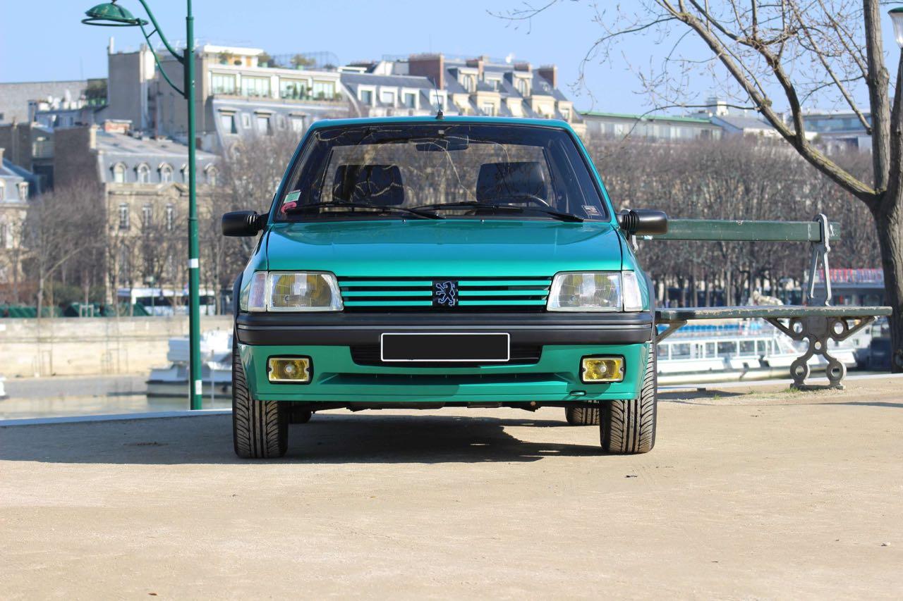 Peugeot 205 Griffe... Quand Todt voit vert ! 7
