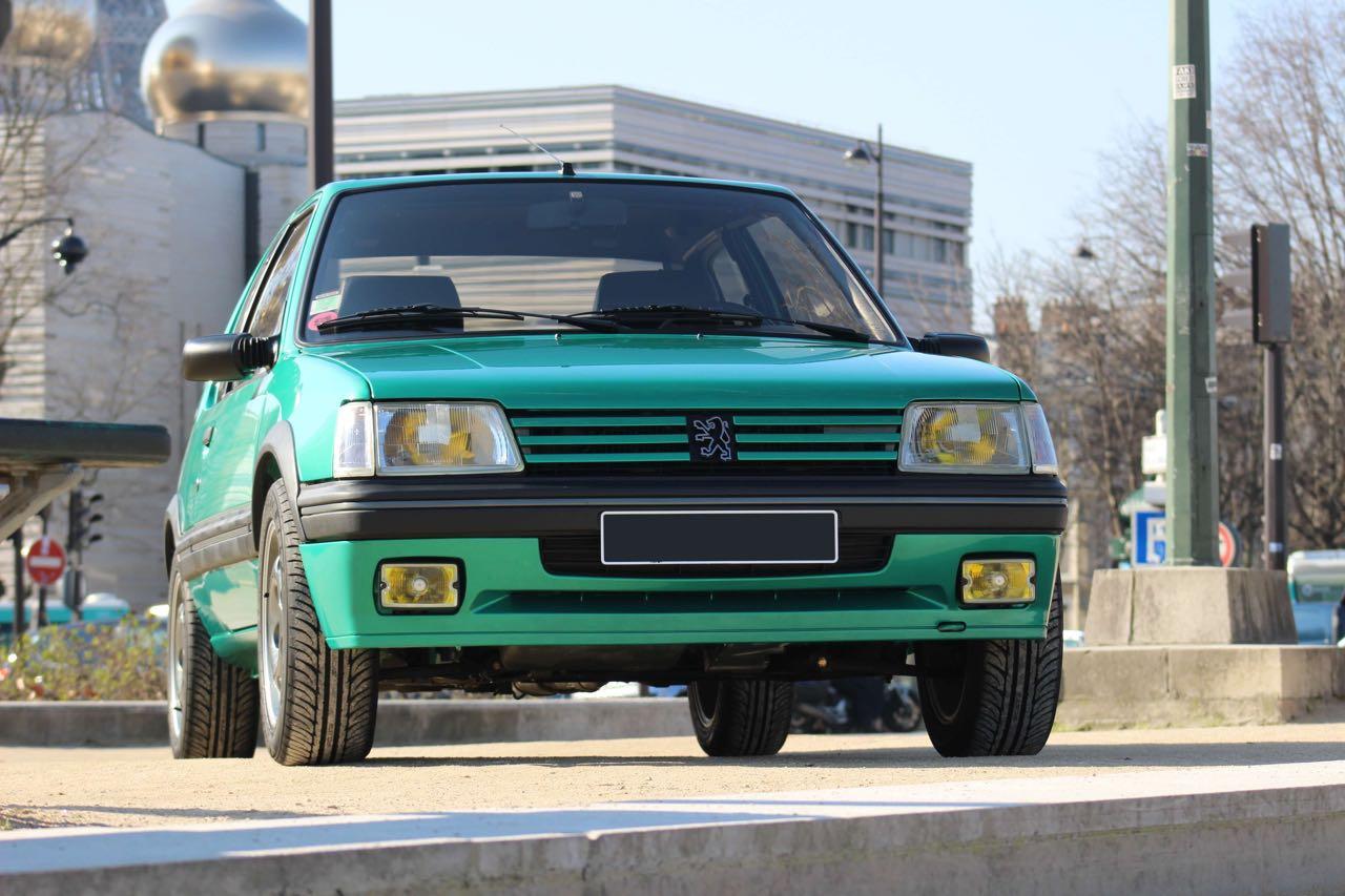 Peugeot 205 Griffe... Quand Todt voit vert ! 3