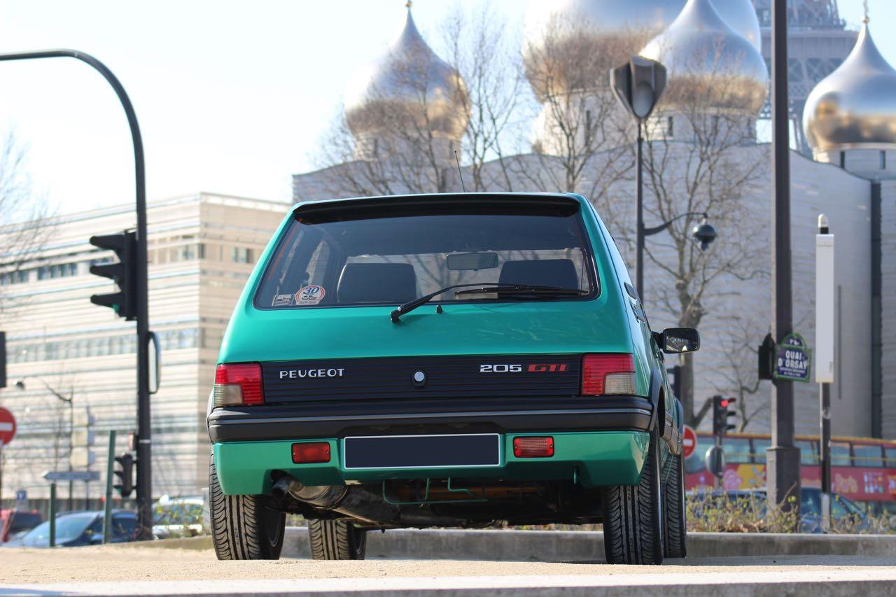 Peugeot 205 Griffe... Quand Todt voit vert ! 4
