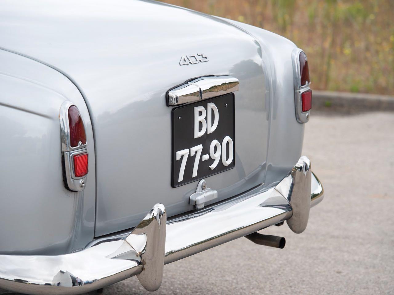 Peugeot 403 Cabriolet - En toute simplicité... 7