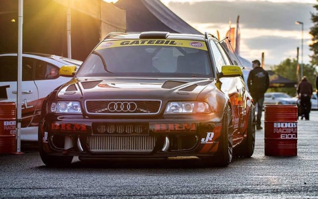 Audi RS4 1300+… Gatebil machine !