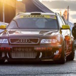 Audi RS4 1300+... Gatebil machine !