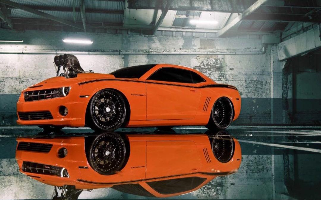 """Chevrolet Camaro 1000+ """"The Grudge""""… Priez pour les pneus !"""