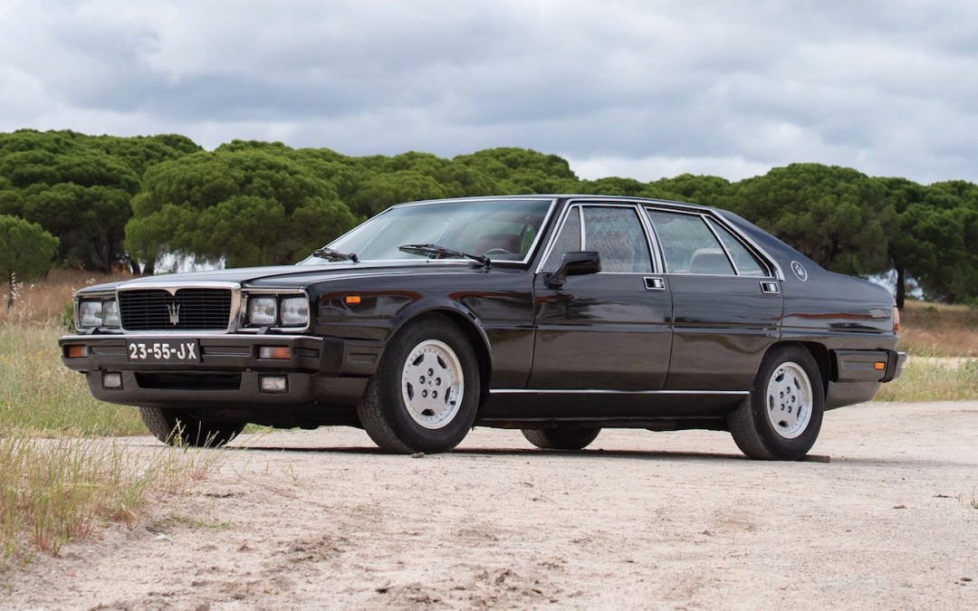 Maserati Royale… Royalement kitsch !
