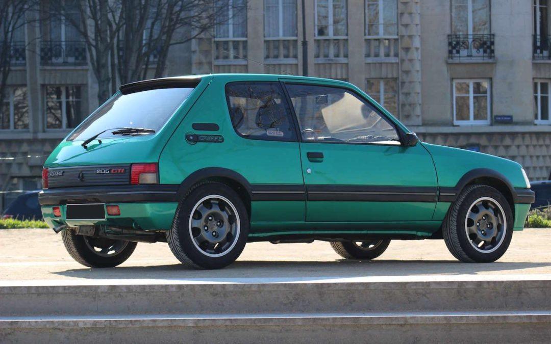 Peugeot 205 Griffe… Quand Todt voit vert !