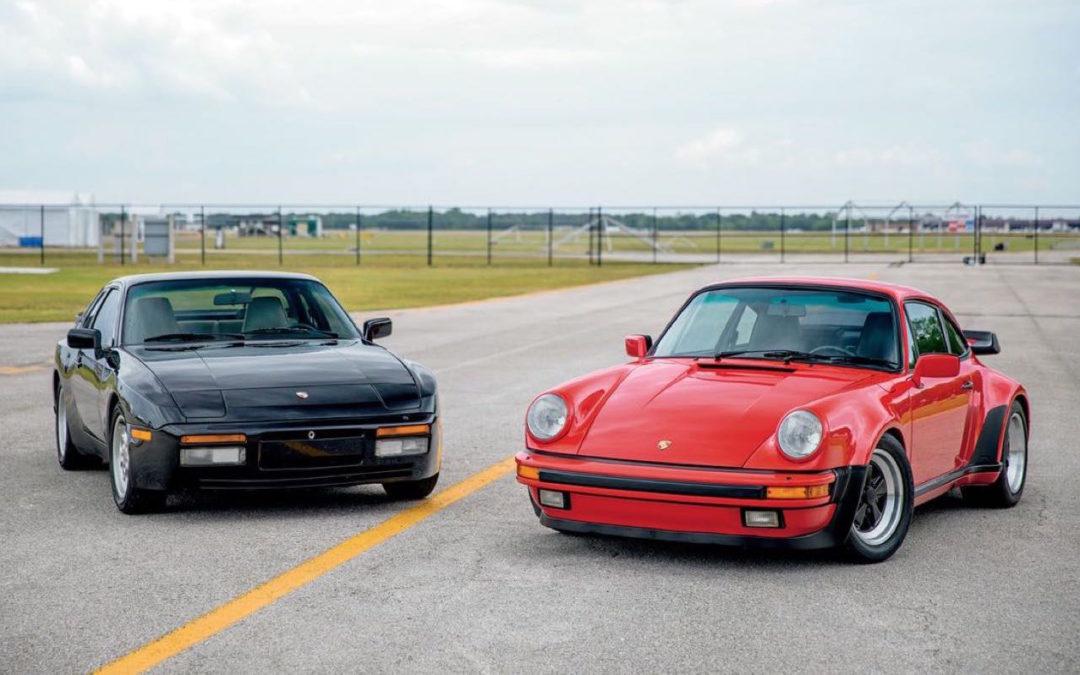 Porsche 930 Turbo vs 944 Turbo… Préjugés !