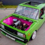 Slammed Lada 2105... Pour une poignée de roubles !