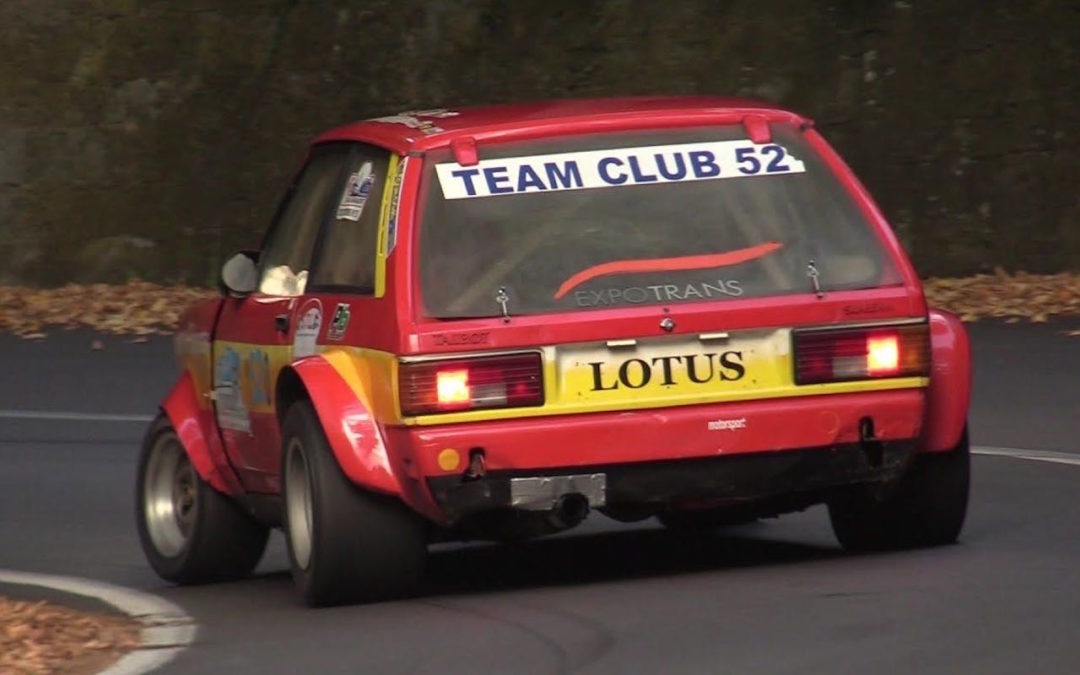 Hillclimb Monster : Talbot Sunbeam Lotus Gr4… Old's cool !