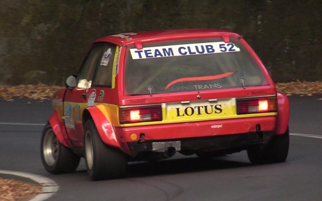 Hillclimb Monster : Talbot Sunbeam Lotus Gr4… Old's cool !