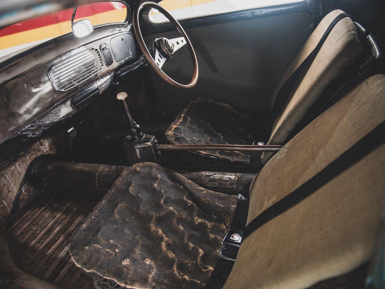 "'56 VW Beetle Outlaw ""Death"" by Franz Muhr - Heavy Metal ! 15"