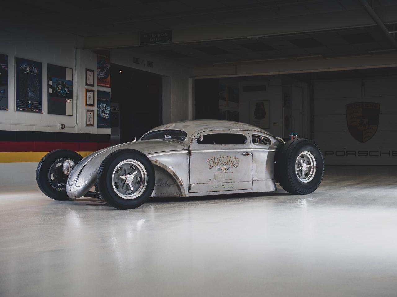"'56 VW Beetle Outlaw ""Death"" by Franz Muhr - Heavy Metal ! 4"