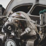 "'56 VW Beetle Outlaw ""Death"" by Franz Muhr - Heavy Metal ! 8"