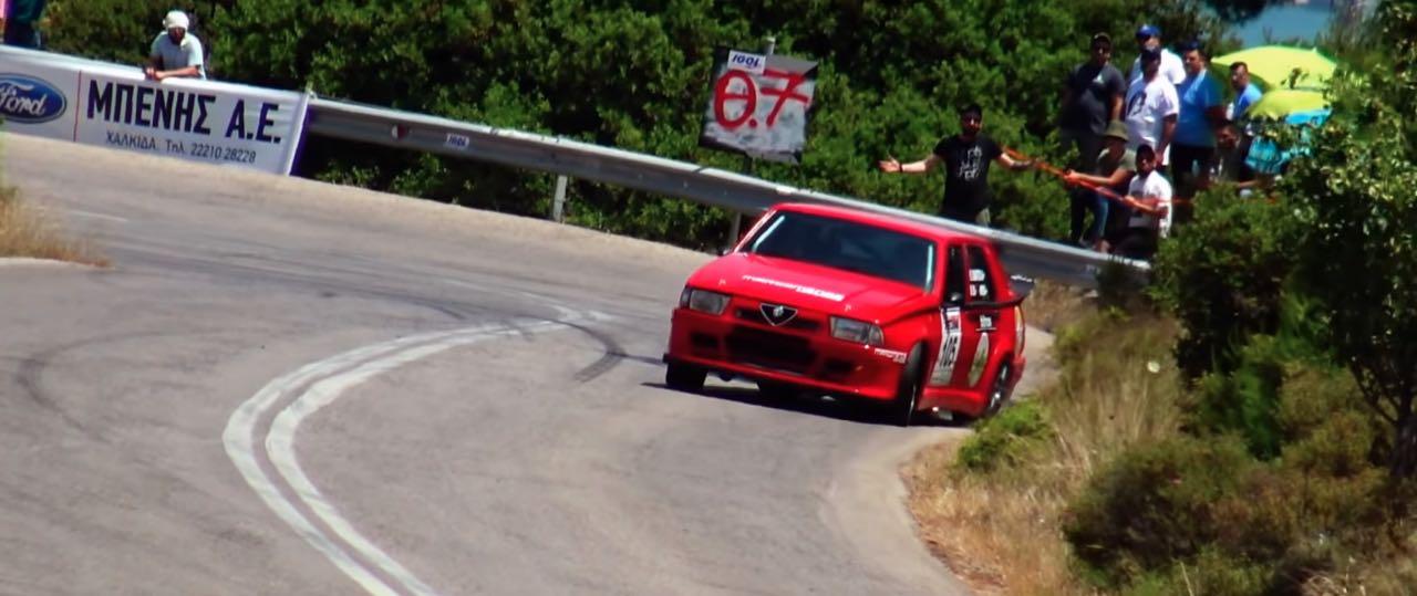 Hillclimb Monster : Alfa 75 Turbo... 410 ch dans l'derrière ! 9