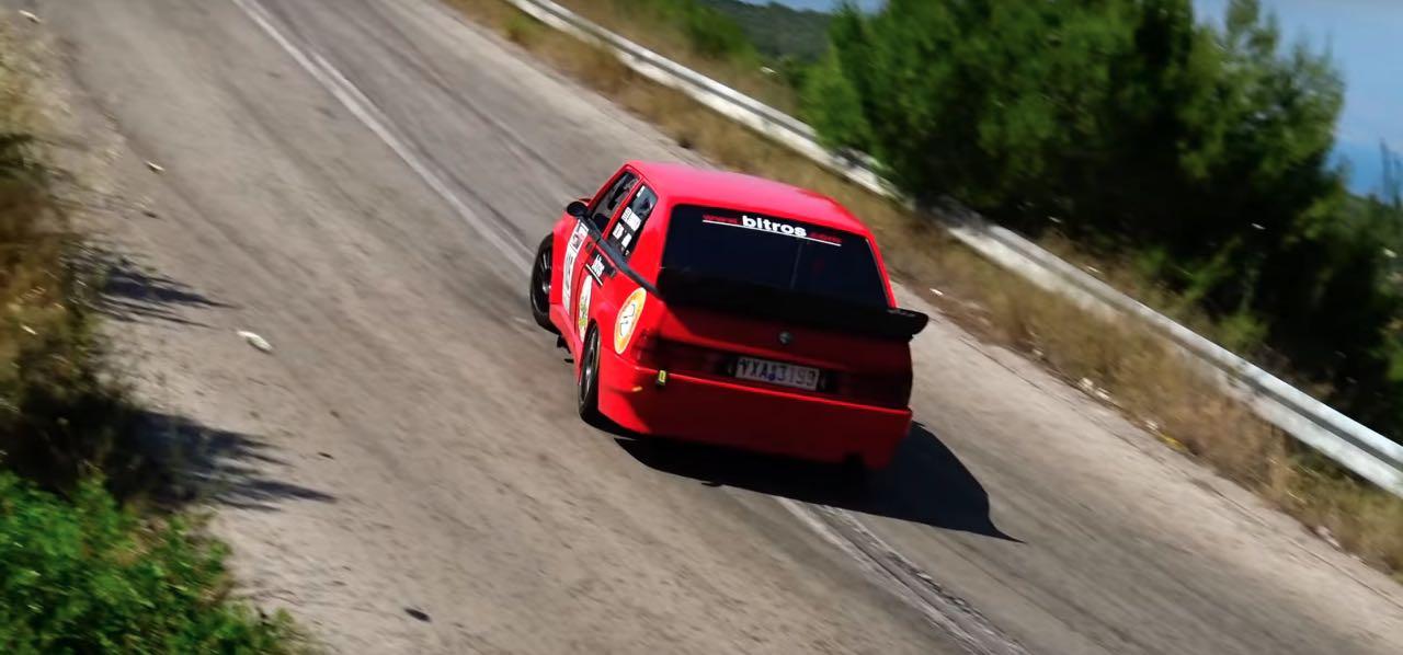 Hillclimb Monster : Alfa 75 Turbo... 410 ch dans l'derrière ! 8
