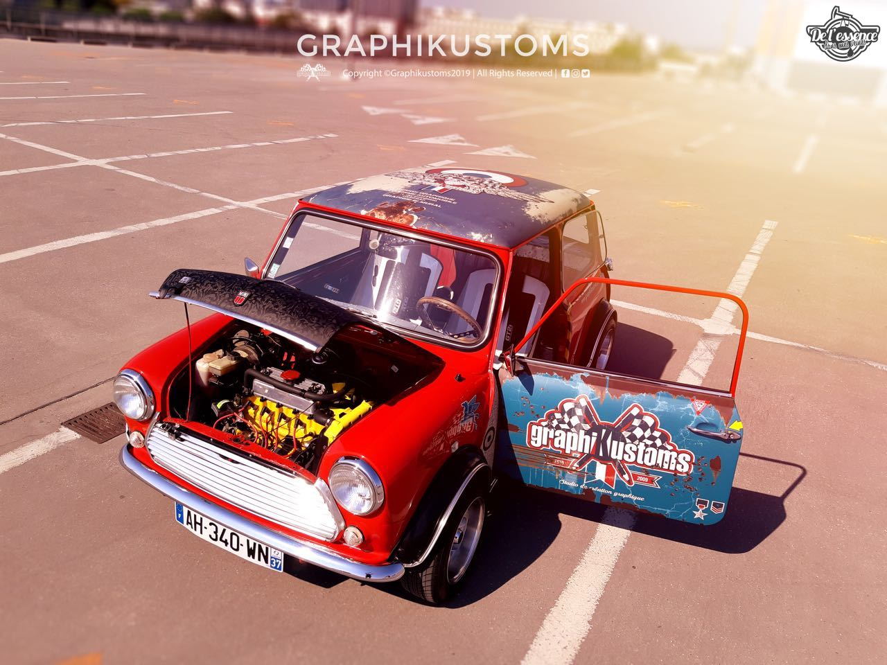 Graphikustoms Austin Mini Mayfair... Mayfair vraiment différent ! 11