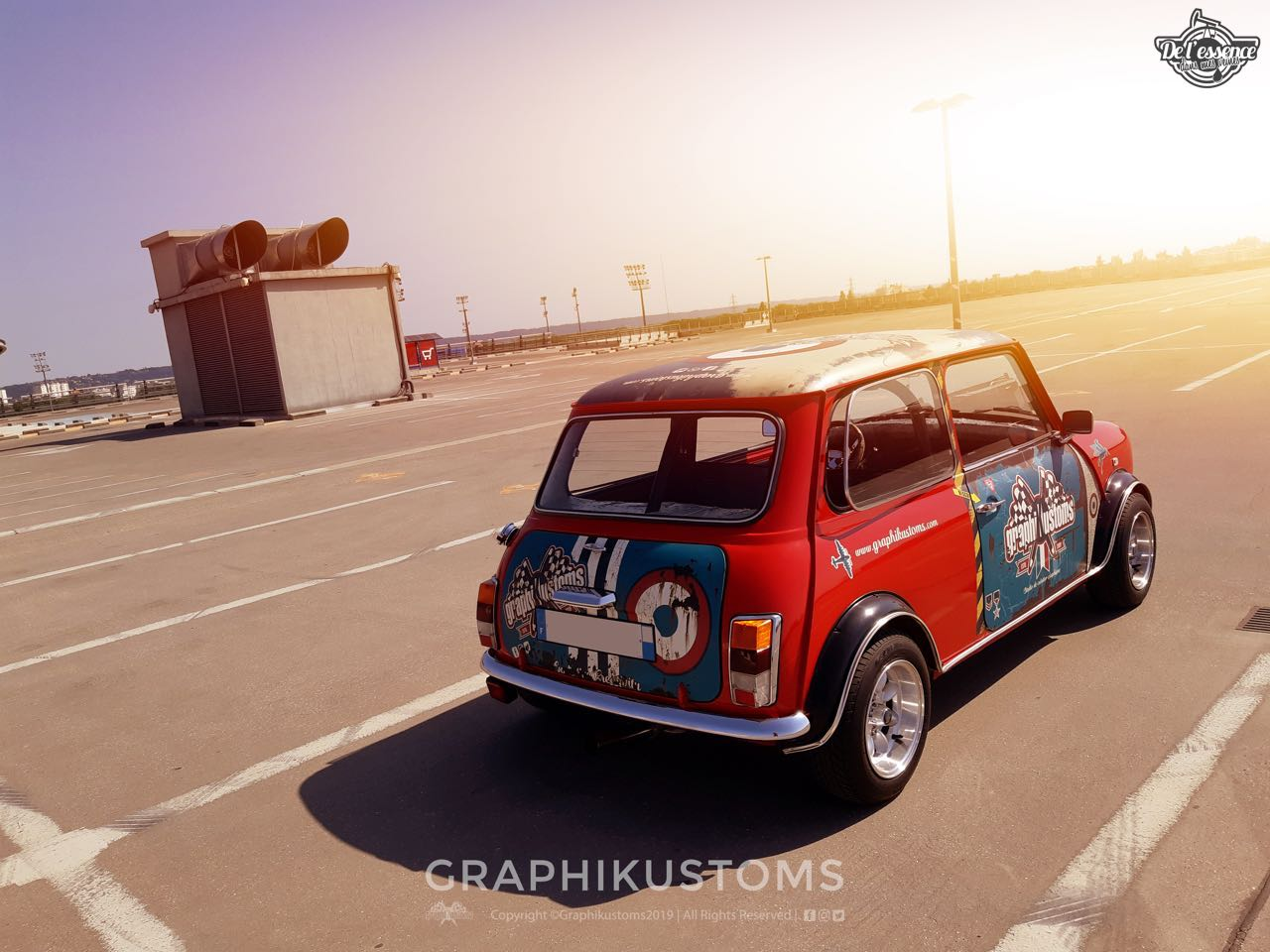 Graphikustoms Austin Mini Mayfair... Mayfair vraiment différent ! 1