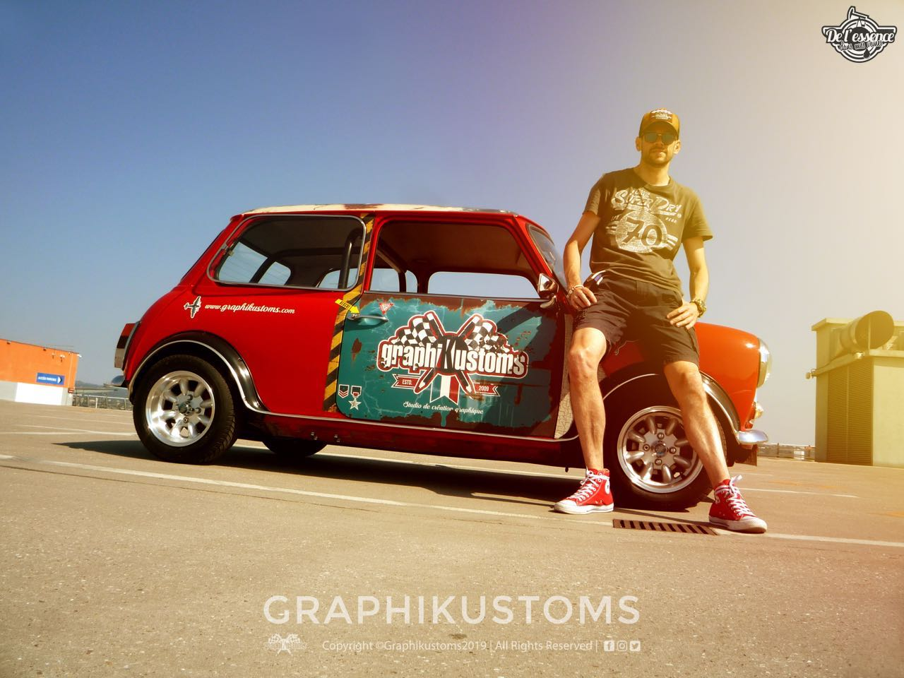Graphikustoms Austin Mini Mayfair... Mayfair vraiment différent ! 20
