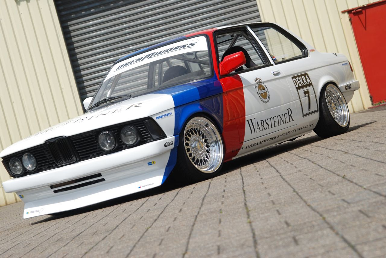 BMW 327i E21... Street car radicale par Dreamworks Cartuning ! 10