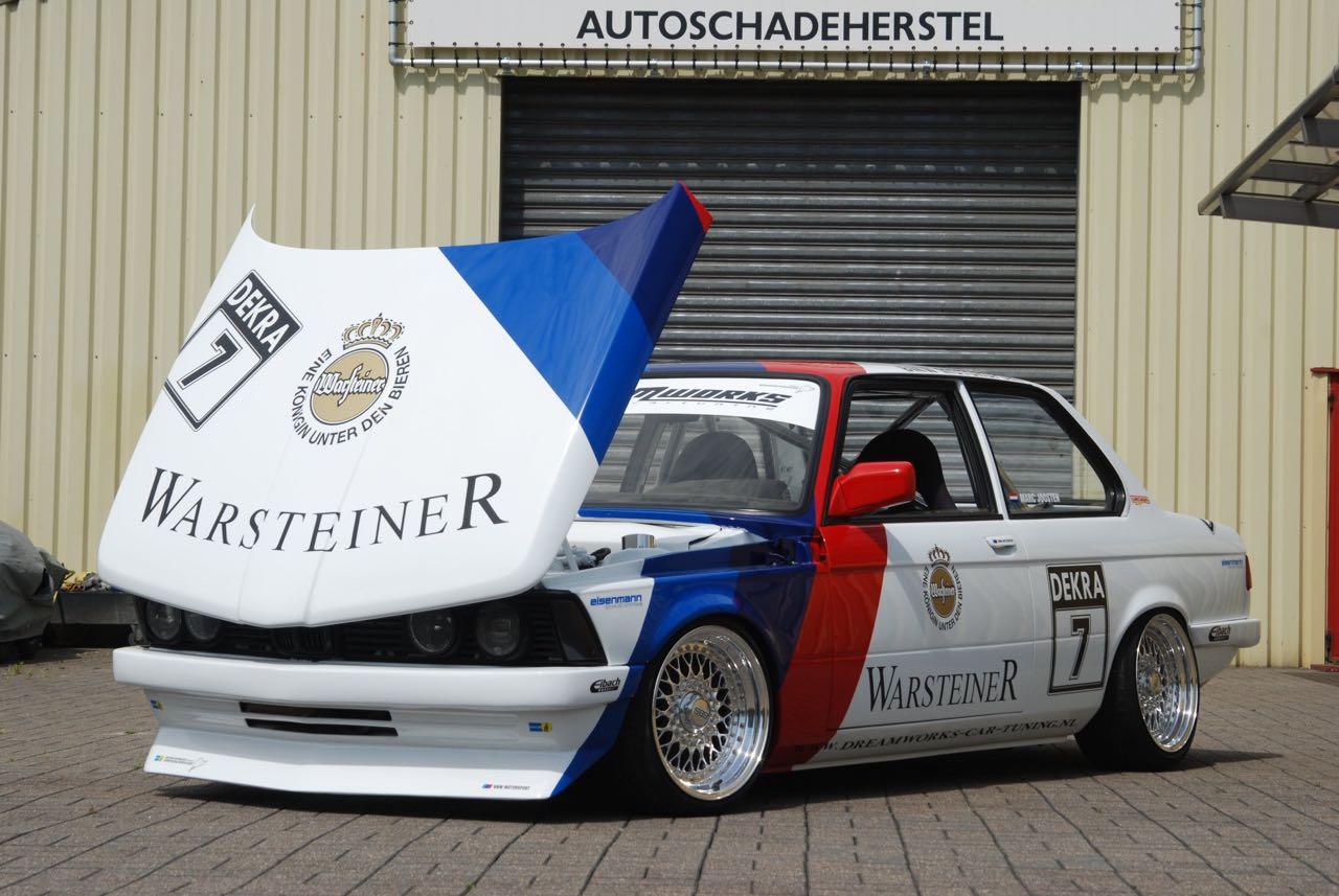BMW 327i E21... Street car radicale par Dreamworks Cartuning ! 1