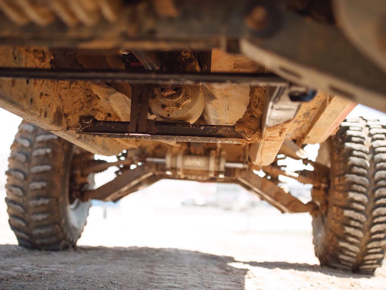 The Mudmaro : La fusion d'un Hummer H1 et d'une Camaro ! 6