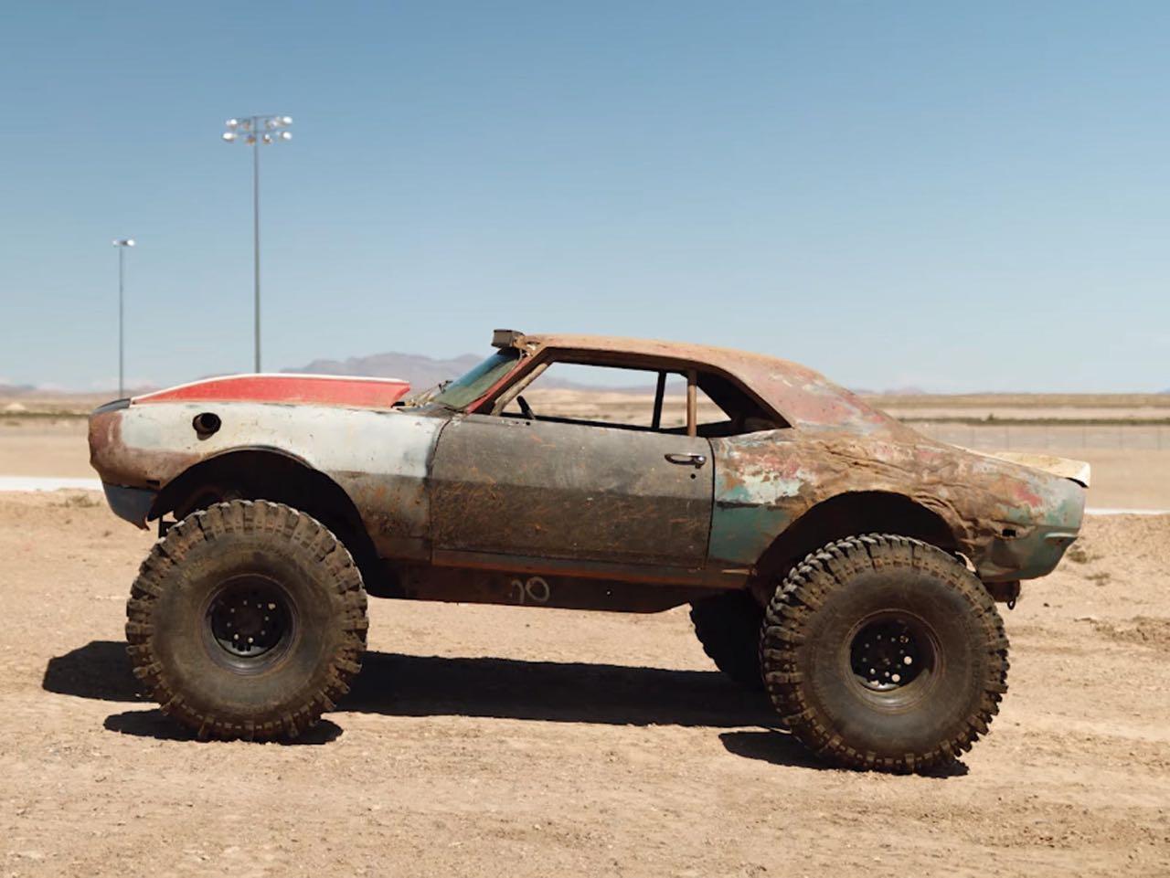 The Mudmaro : La fusion d'un Hummer H1 et d'une Camaro ! 4