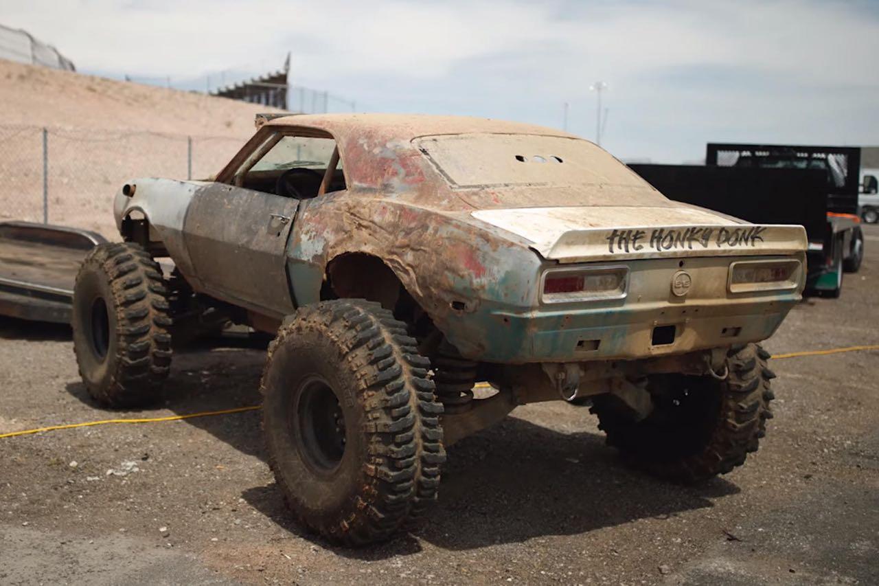 The Mudmaro : La fusion d'un Hummer H1 et d'une Camaro ! 5