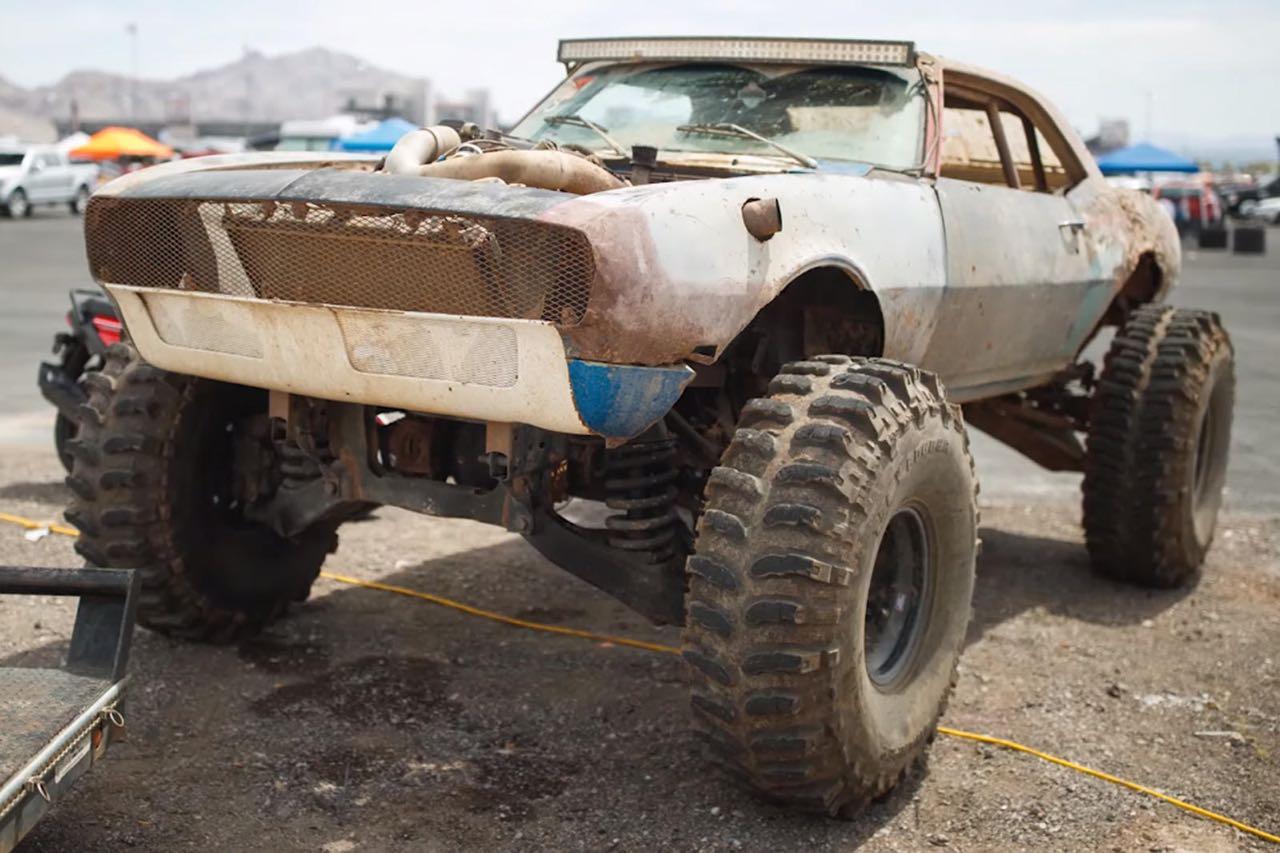 The Mudmaro : La fusion d'un Hummer H1 et d'une Camaro ! 3