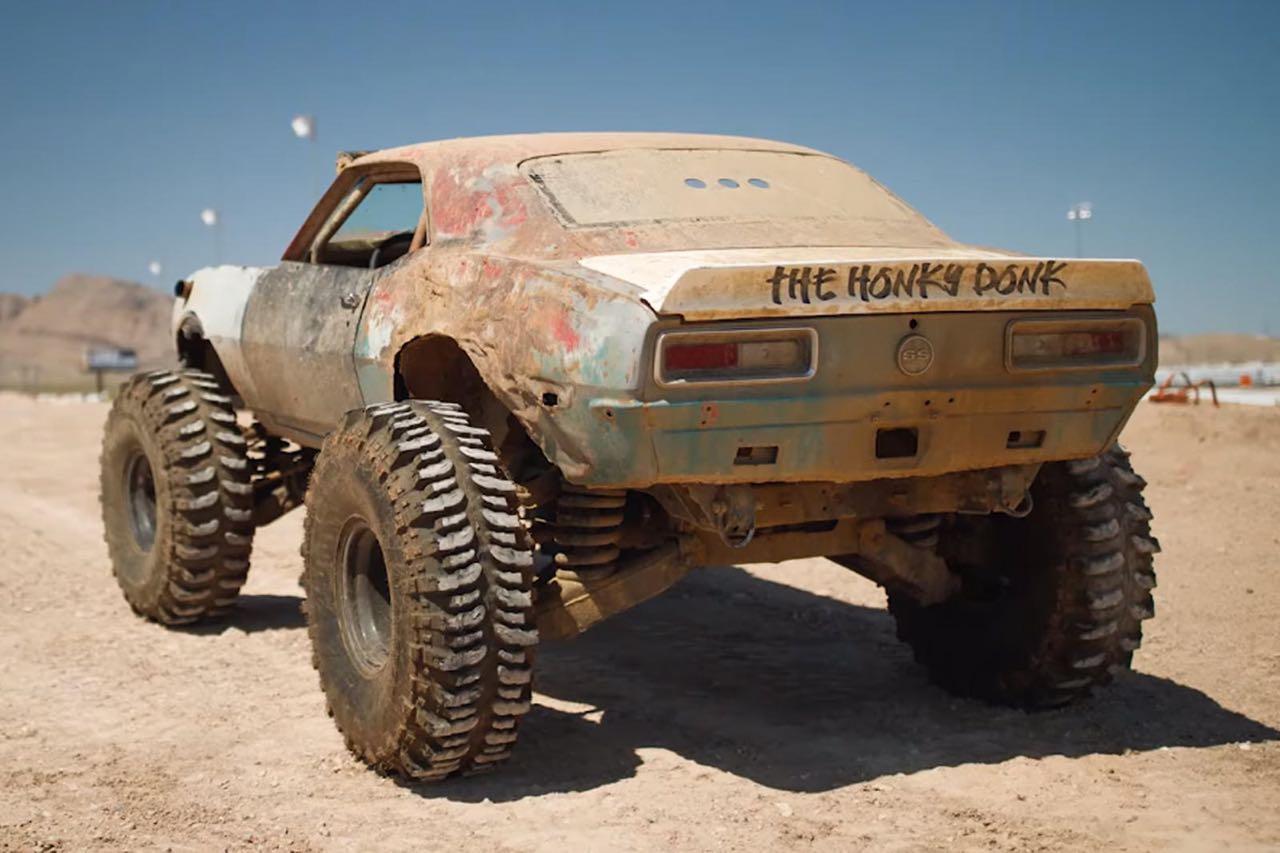 The Mudmaro : La fusion d'un Hummer H1 et d'une Camaro ! 1