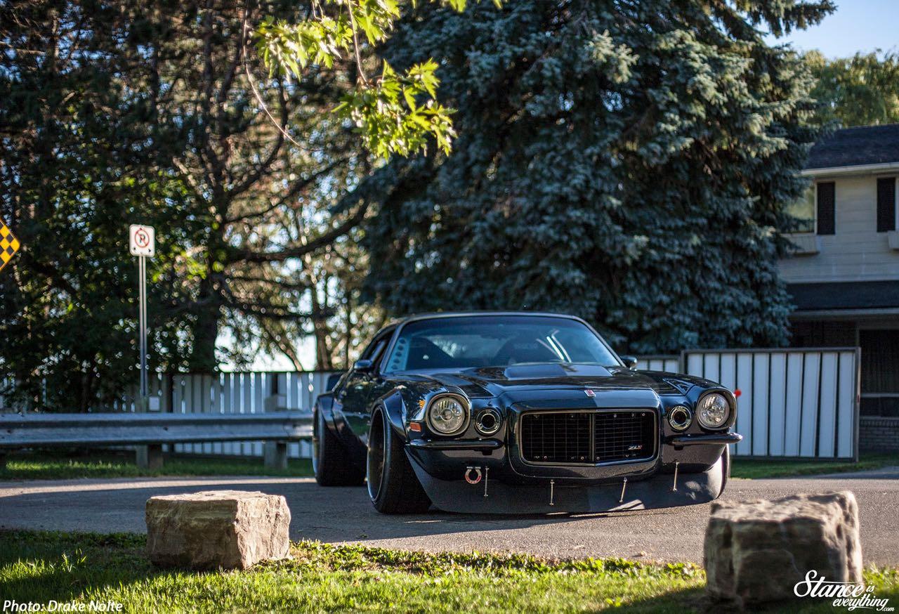 '70 Chevrolet Camaro restomod... Prête pour la guerre ! 12