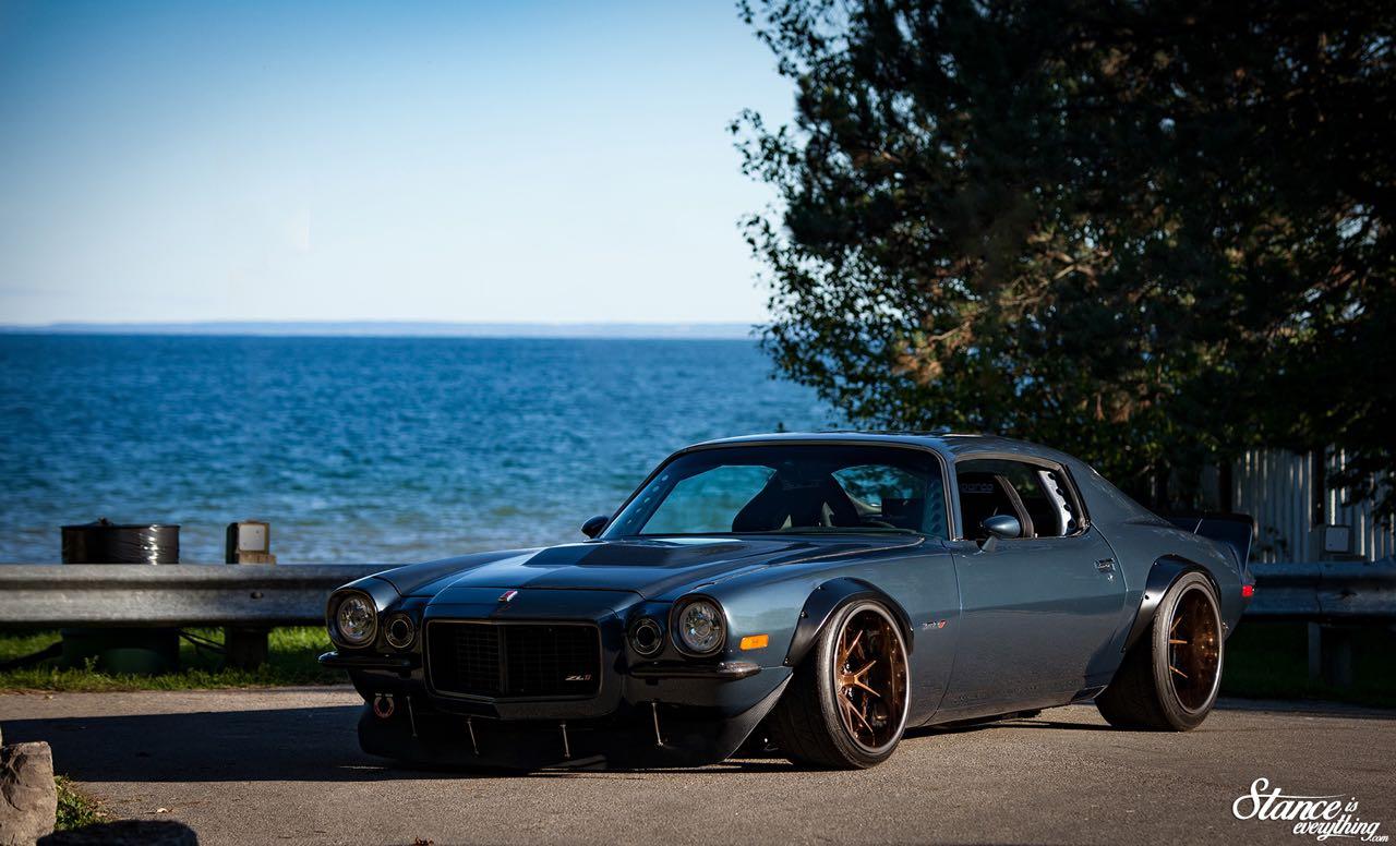 '70 Chevrolet Camaro restomod... Prête pour la guerre ! 1