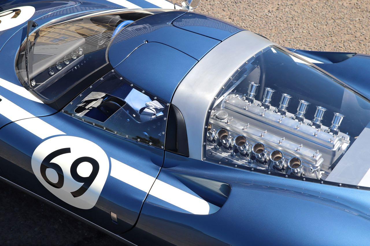 Ecurie Ecosse LM69... La Jaguar XJ13 version 2019. 7