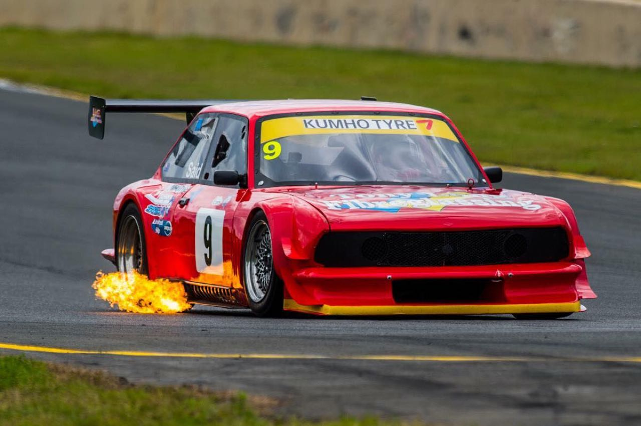 Fiat 124 en 20B vs V8 Supercars : Fight ! 1
