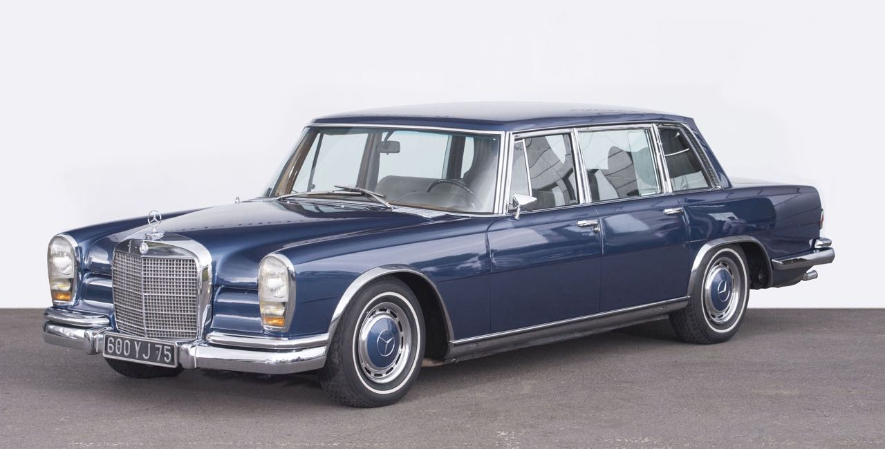 Mercedes 600 Pullman & Limousine... Immortelle et intemporelle ! 1
