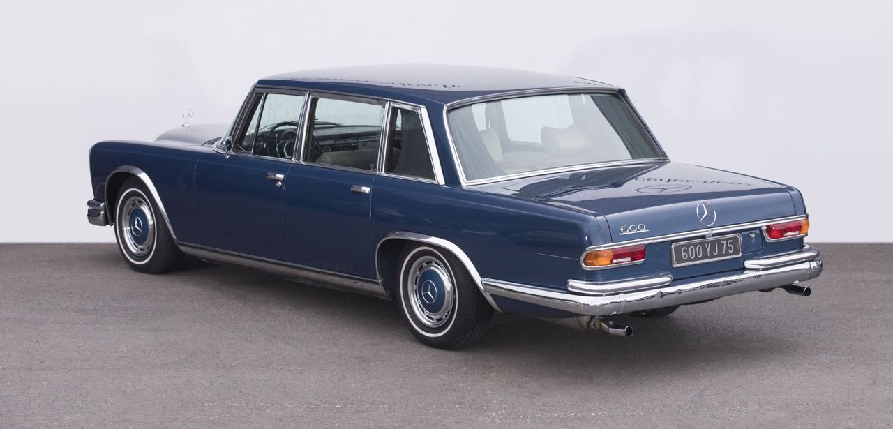 Mercedes 600 Pullman & Limousine... Immortelle et intemporelle ! 19