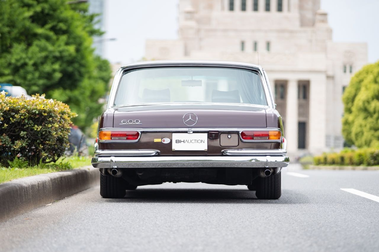 Mercedes 600 Pullman & Limousine... Immortelle et intemporelle ! 3