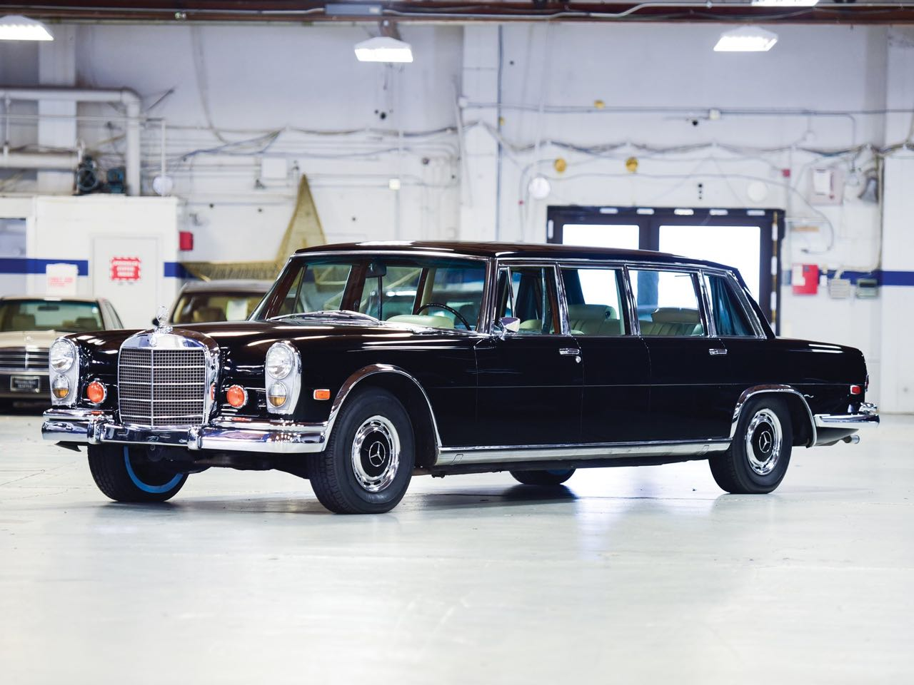 Mercedes 600 Pullman & Limousine... Immortelle et intemporelle ! 6